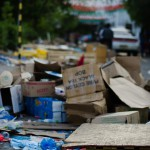 Vendors turn Malé's surf point into trash dump