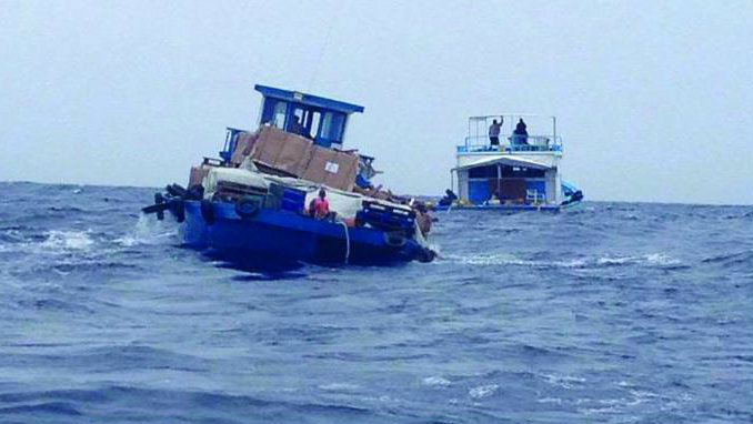 Two men drown in Fiyori, one boat sinks in bad weather