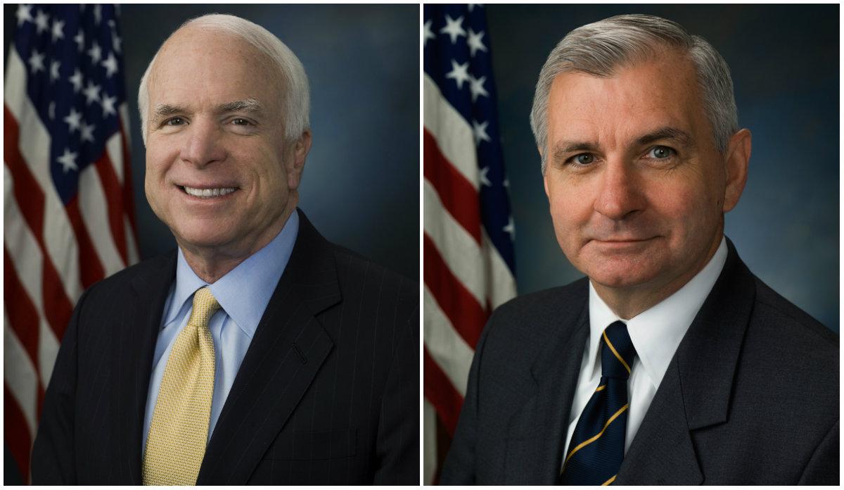 US Senators call for ex-president's release