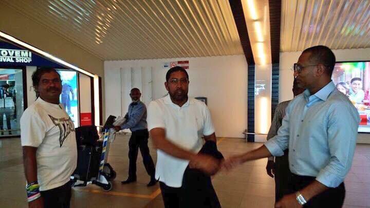 JP leader Gasim returns to Maldives